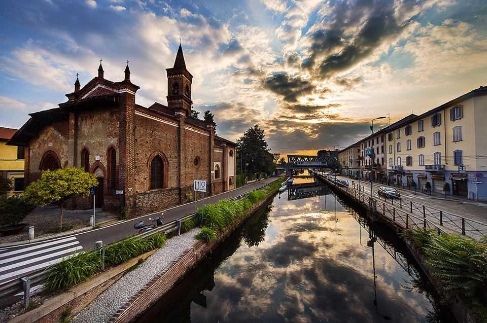 chiesa San Cristoforo sul Naviglio a Milano